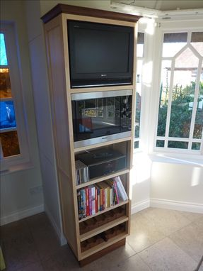 Custom Made Multi Functional Upright Cabinet