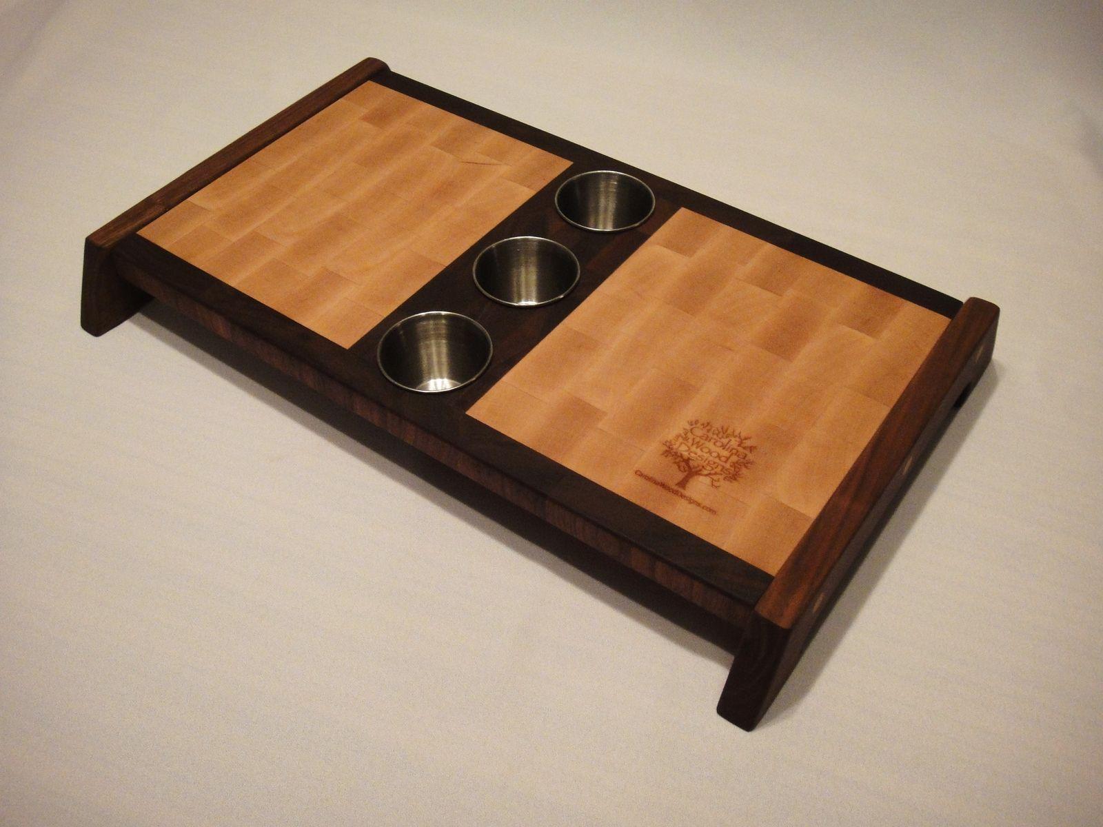 Hand Made Sushi Board By Carolina Wood Designs
