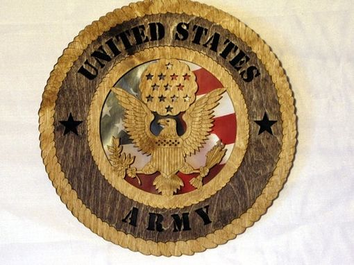Custom Made Army Wall Plaque