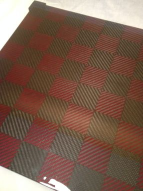 Custom Made Custom Carbon Fiber Chess Board