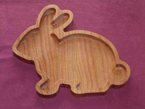 Custom Made Easter Bunny Candy Dish
