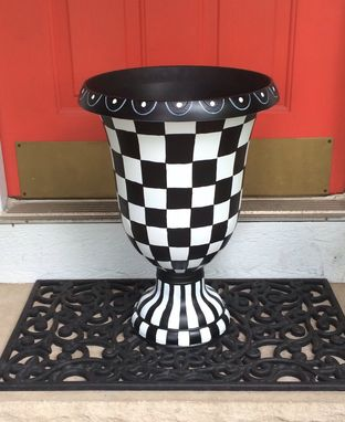 Buy A Custom Painted Urn Planter Whimsical Painted