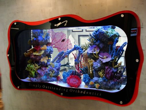 Custom Made Custom Frame For Fish Tank