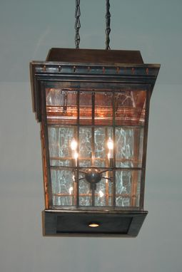 Custom Made Bronze Entry Lantern