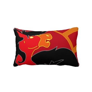 Custom Made Custom Horse And Fantasy Horse Throw Pillows