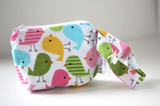 Custom Made Mini Gusseted Messy Bags (Snack Bags) - Birds In Spring