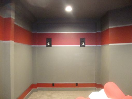 Custom Made Kids-Media Room & Funky