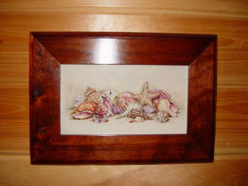 Custom Made Cherry Picture Frame