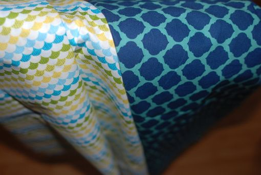 Custom Made Custom Pillow - 18x18 Or 20x20 For Geometric Multi-Colored Textile