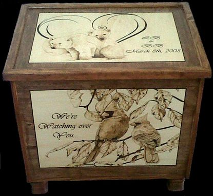 Custom Made Custom Wedding Box (Present)