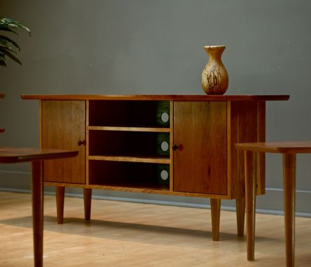 Custom Made Mid Century Modern/Danish Modern Tv/Media Console Or Credenza/Sideboard