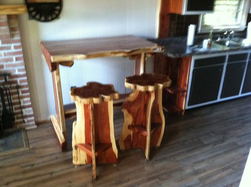 Custom Made Bar Height Table For Small Kitchens