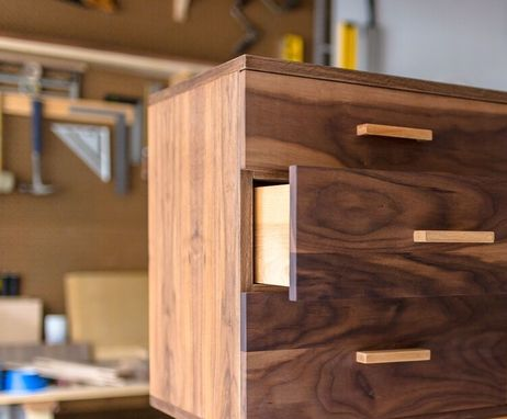Custom Made Ranchwood: Modern Walnut + Alder Credenza
