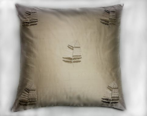 Custom Made Chateau: Landscapes: Leaf Pillow