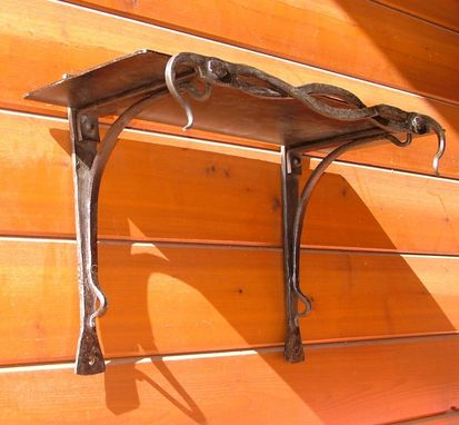 Custom Made Celtic Style Steel Shelf