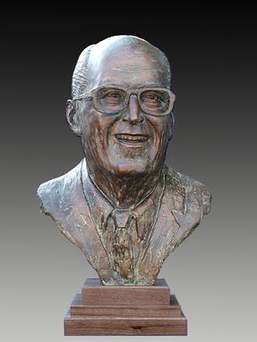 Custom Made Al Nobel  1-1/2 Lifesize Memorial Bust