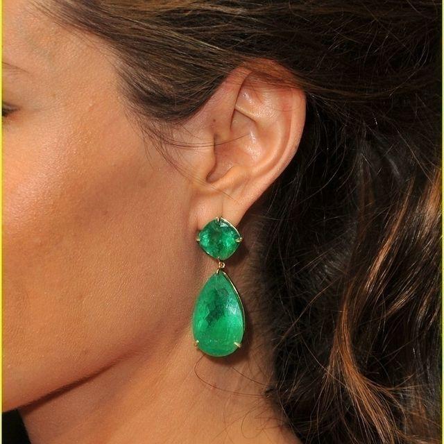 6d96c6ee217e5 Angelina Jolie Inspired Emerald Earrings - The Best Produck Of Earring