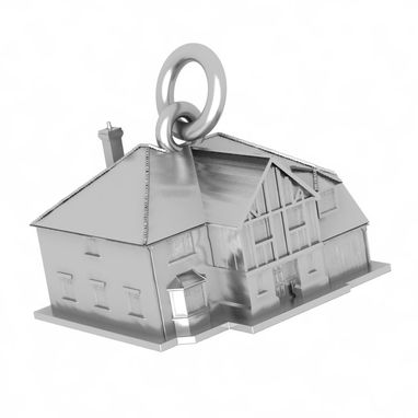 Custom Made Charmed Home. Silver Charm