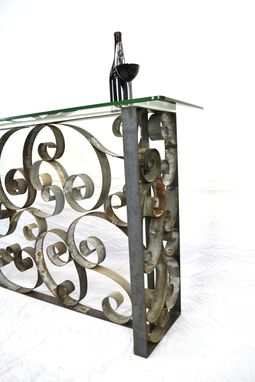Custom Made Raiment - V4 - Barrel Ring Bar Or Console Table