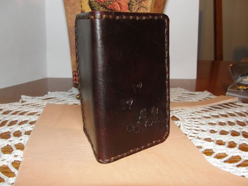 Custom Made Leathe Small Wallet For Credit Cards Or Business Cards