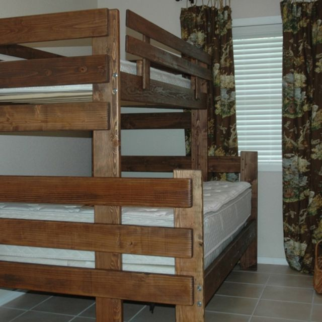 Custom Made Bunk Loft Twin And Day Beds By The Hillbilly Llc Custommade