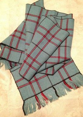 Custom Made Poppy Plaid Scarf