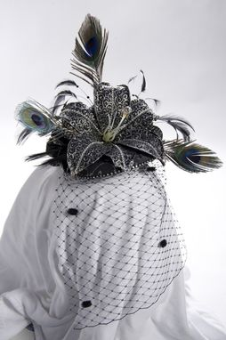 Custom Made Floral Vintage Hat