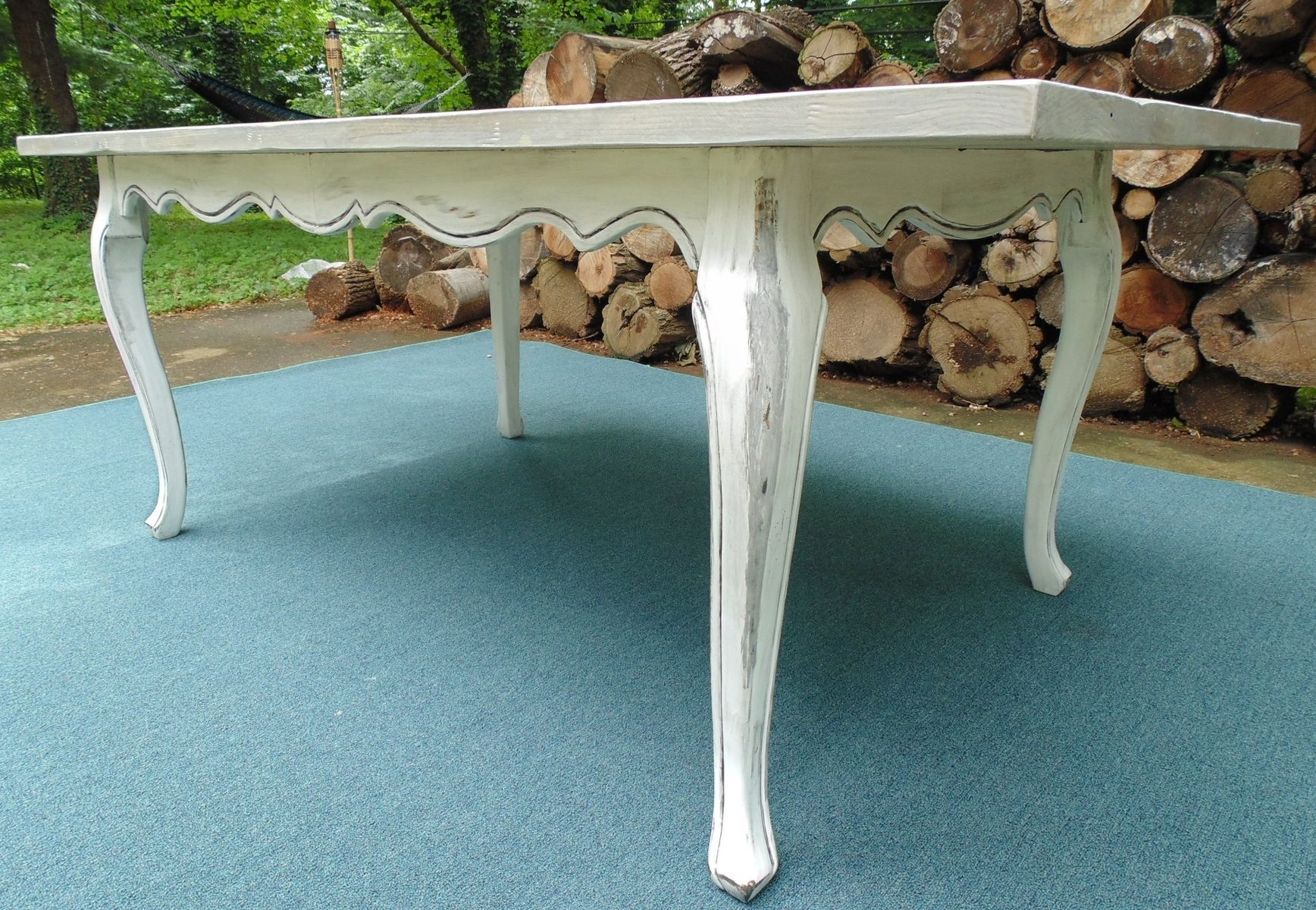 Hand Crafted Reclaimed Wood French Country Farmhouse Table by ...