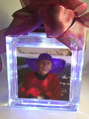 Custom Made Memory Blocks, Nightlight Blocks, Wedding Centerpiece