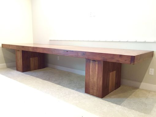 Custom Made Walnut Desk Or Conference Table