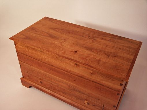 Custom Made Shaker Cherry Blanket Chest