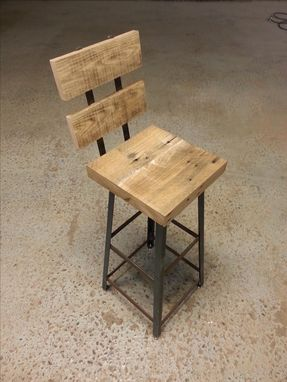 Custom Made Re.Dwell Industrial Stool