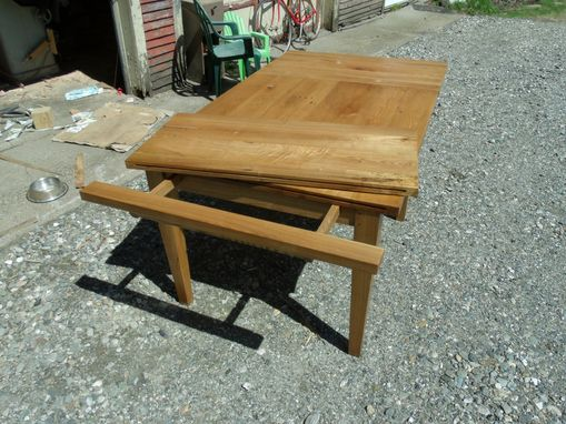 Custom Made White Ash Farm Table