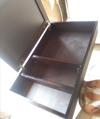 Custom Made Custom Made Walnut Medicine Cabinets