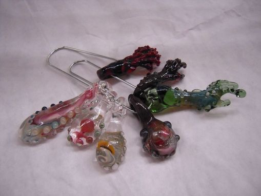Custom Made Zombie Or Alien Finger Glass Pendants Body Parts - Arms - Keep Austin Weird