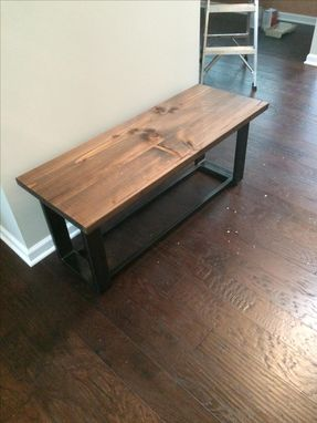 Custom Made Entry Way Bench