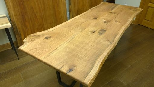 Custom Made Reclaimed, Domestic Oak Dining/Conference Table