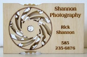 Custom Made World's Coolest Business Card
