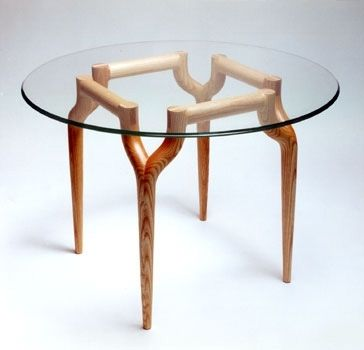 Custom Made Antler Dining Table