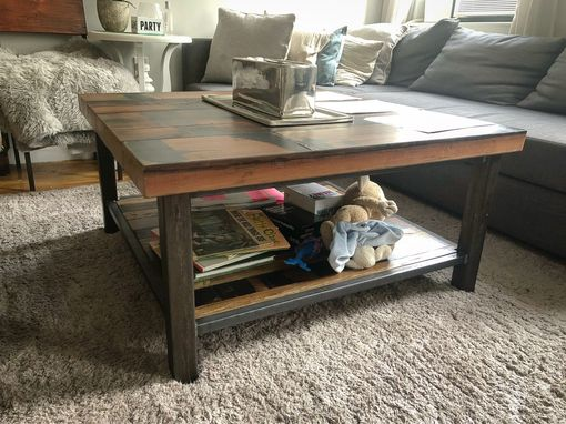 Custom Made Chunky Vintage Coffee Table