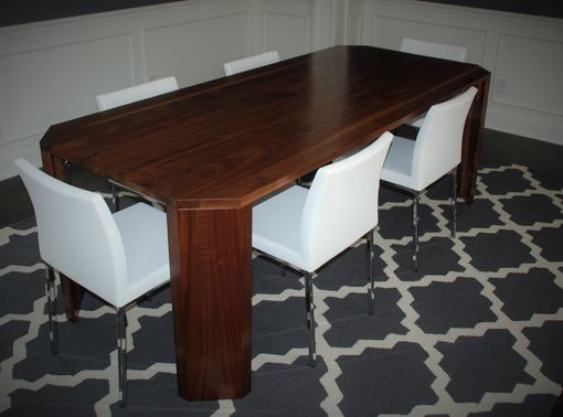 Custom Made Walnut Dining Table By Belak