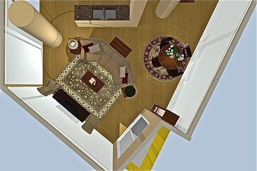 Custom Made Interior Design Service: Full Design Package- 3d Rendering, Apartment Interior Design