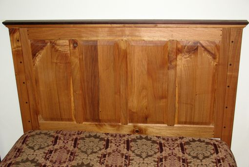 Custom Made Raised Panel Headboard For Queen Size Bed