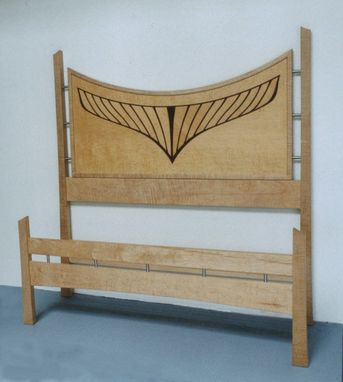 Custom Made Marquetry Bed