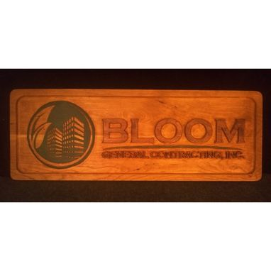 Custom Made Bloom Sign