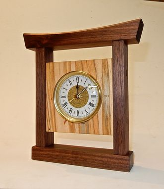 Custom Made Asian Inspired Clock