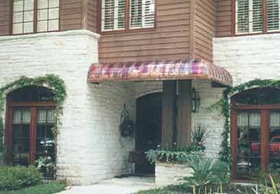 Custom Made Copper Awnings