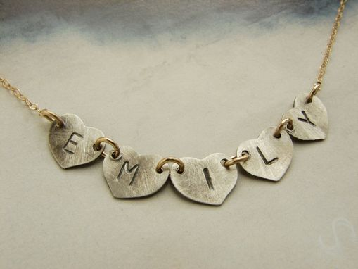 Custom Made Custom Date Necklace, Custom Name Necklace
