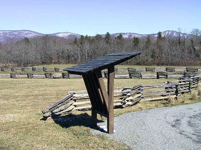 Custom Drover's Road Preserve Map Kiosk ~ Fairview, Nc by Pauls