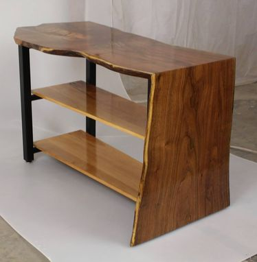 Custom Made Waterfall Edge Side Table